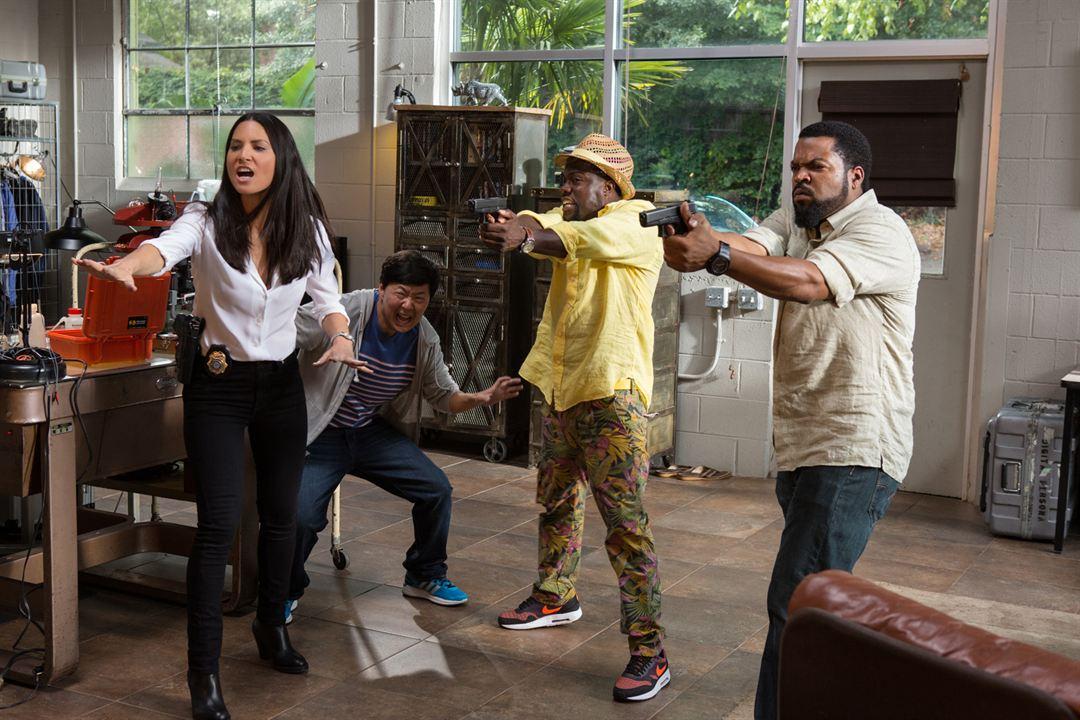 Ride Along 2: Next Level Miami : Bild Ice Cube, Ken Jeong, Kevin Hart, Olivia Munn