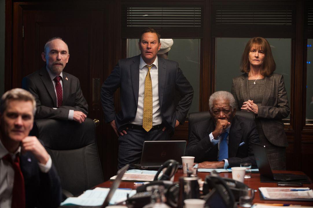 London Has Fallen : Bild Jackie Earle Haley, Melissa Leo, Morgan Freeman, Sean O'Bryan
