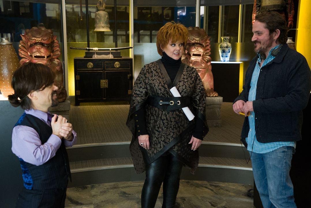 The Boss : Bild Ben Falcone, Melissa McCarthy, Peter Dinklage