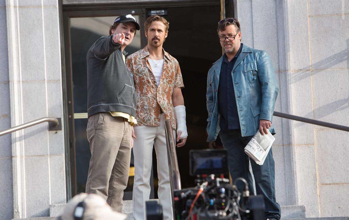 The Nice Guys : Bild Russell Crowe, Ryan Gosling, Shane Black