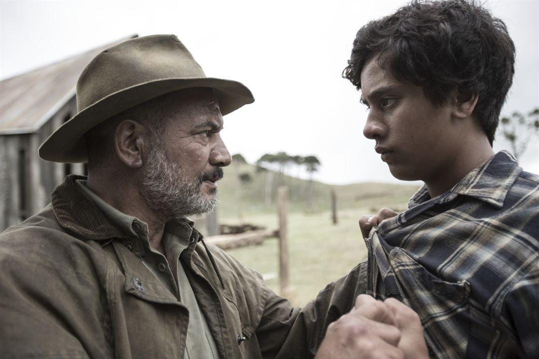 Mahana - Eine Maori-Saga : Bild Akuhata Keefe, Temuera Morrison
