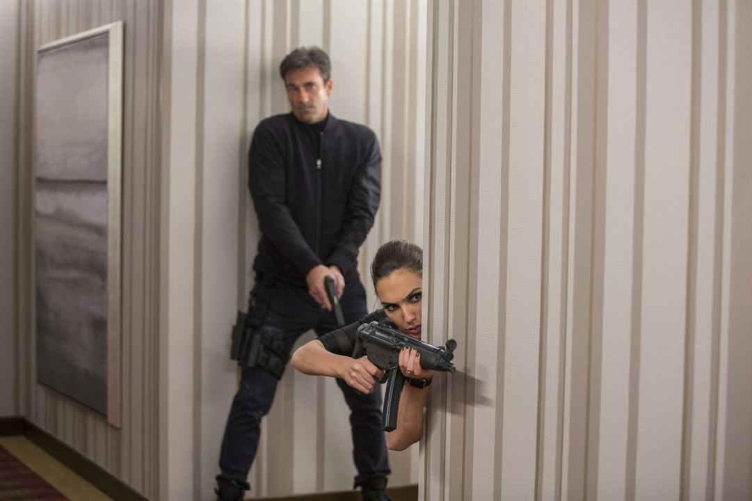 Die Jones - Spione von nebenan: Jon Hamm, Gal Gadot