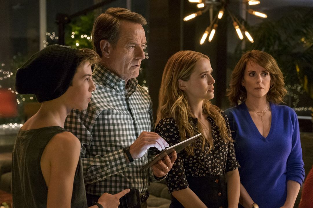 Why Him? : Bild Bryan Cranston, Griffin Gluck, Megan Mullally, Zoey Deutch
