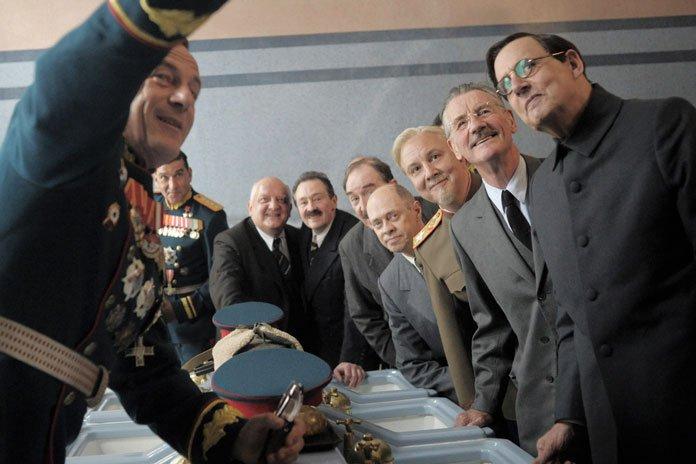 The Death of Stalin : Bild Jason Isaacs, Jeffrey Tambor, Michael Palin, Simon Russell Beale, Steve Buscemi