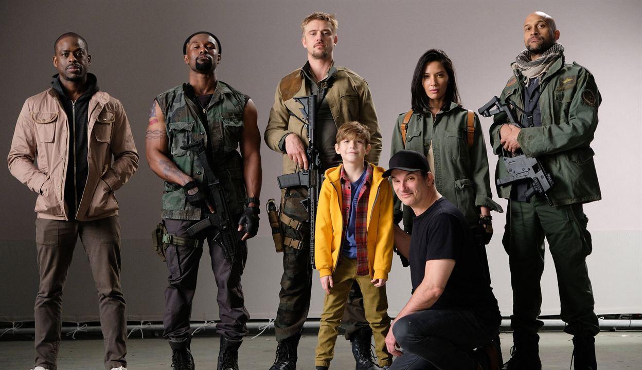 Predator - Upgrade : Vignette (magazine) Boyd Holbrook, Jacob Tremblay, Keegan-Michael Key, Olivia Munn, Shane Black
