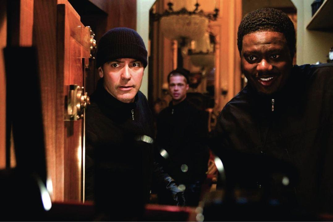 Ocean's Twelve: George Clooney, Brad Pitt, Bernie Mac