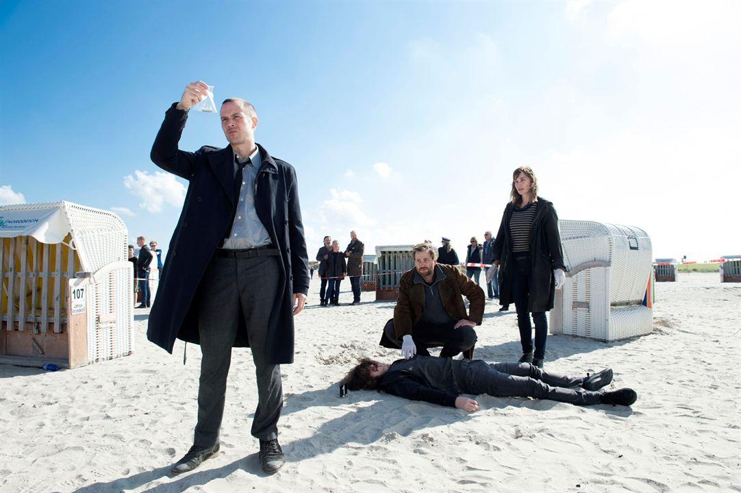 Ostfriesenkiller : Bild Barnaby Metschurat, Christian Erdmann, Christiane Paul