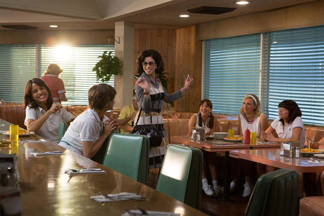Battle Of The Sexes - Gegen jede Regel: Emma Stone, Natalie Morales, Sarah Silverman, Agnes Albright