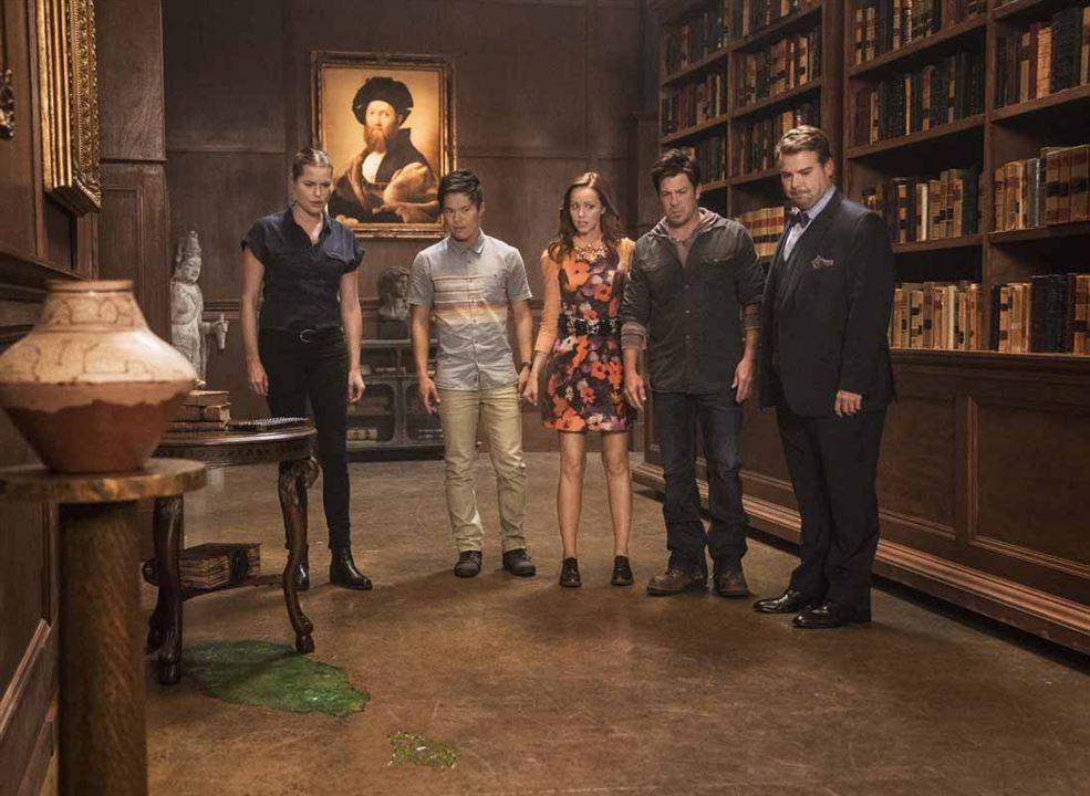 Bild Andrew Caldwell, Christian Kane, John Harlan Kim, Lindy Booth, Rebecca Romijn
