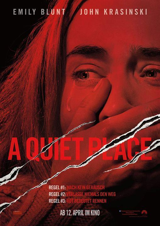 Bildergebnis für a quiet place plakat