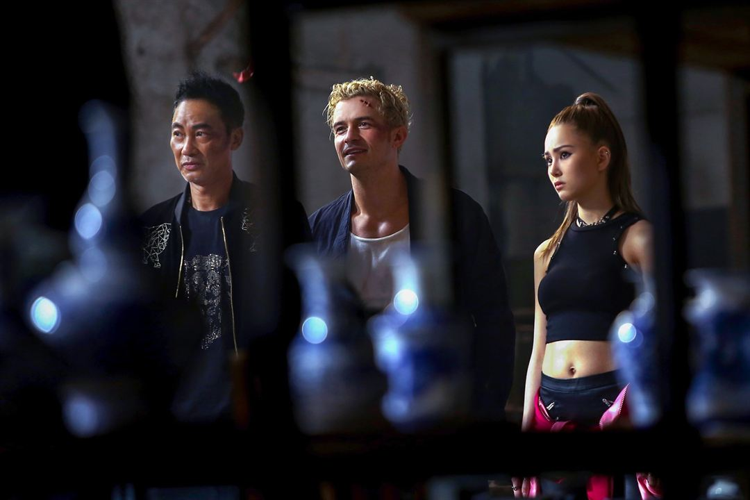 The Shanghai Job : Bild Hannah Quinlivan, Orlando Bloom, Simon Yam
