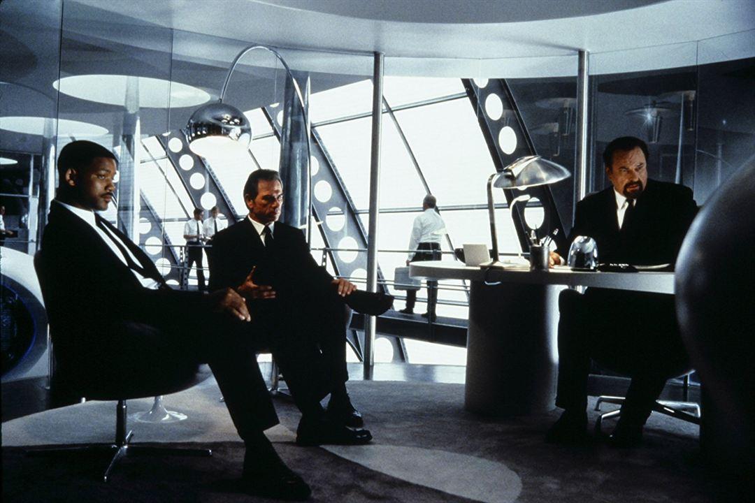 Men in Black: Rip Torn, Will Smith, Tommy Lee Jones