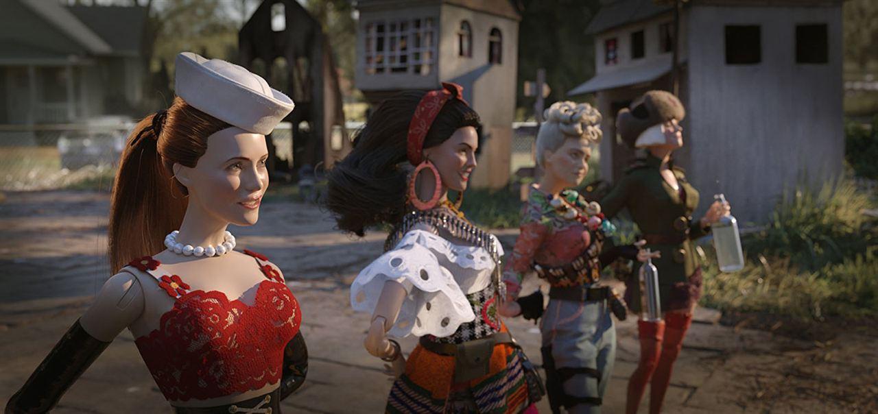 Willkommen in Marwen : Bild Eiza Gonzalez, Gwendoline Christie, Leslie Mann, Merritt Wever
