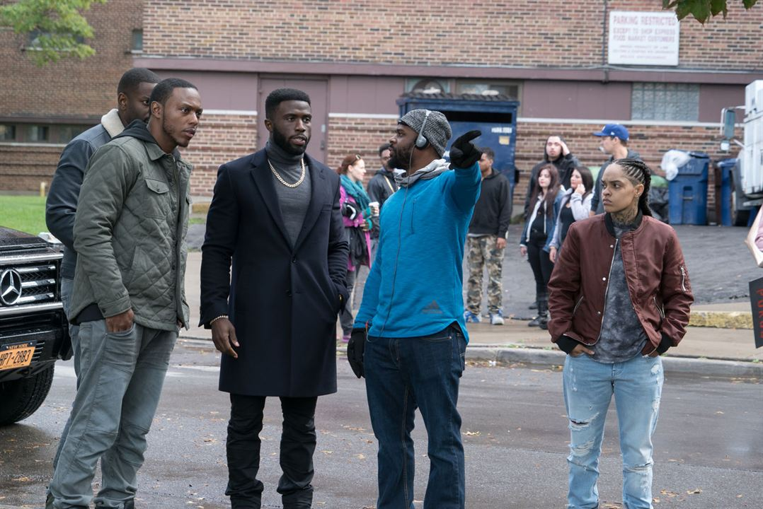 The First Purge : Bild Gerard McMurray, Mo McRae, Siya, Y'lan Noel