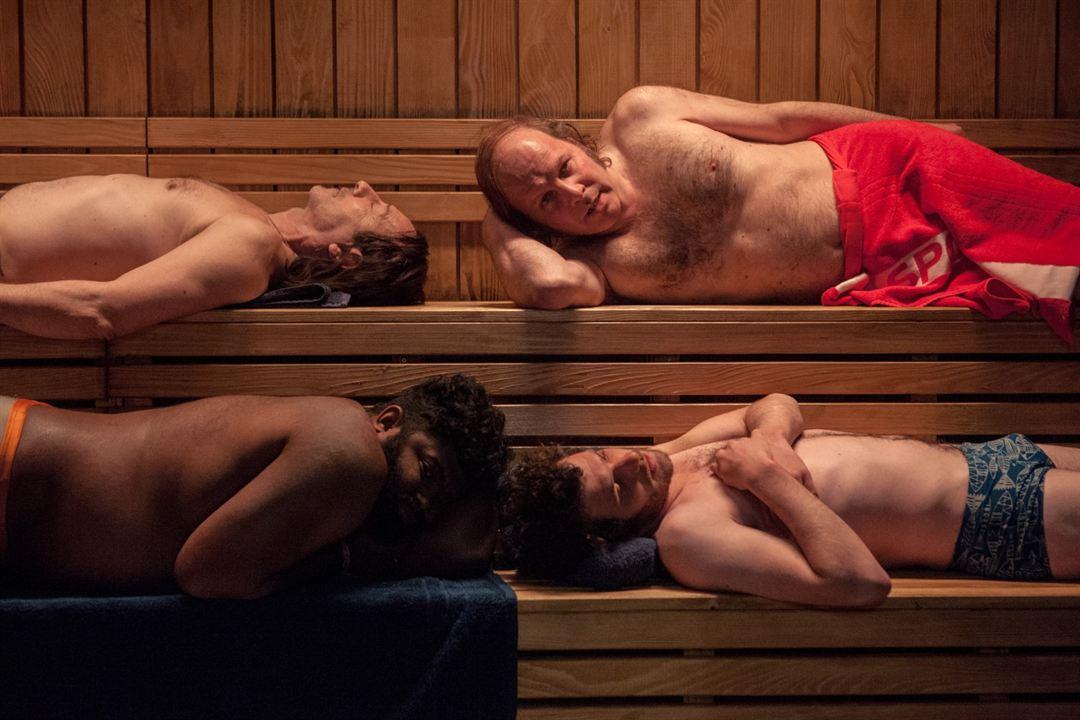Ein Becken voller Männer : Bild Balasingham Thamilchelvan, Félix Moati, Jean-Hugues Anglade, Philippe Katerine