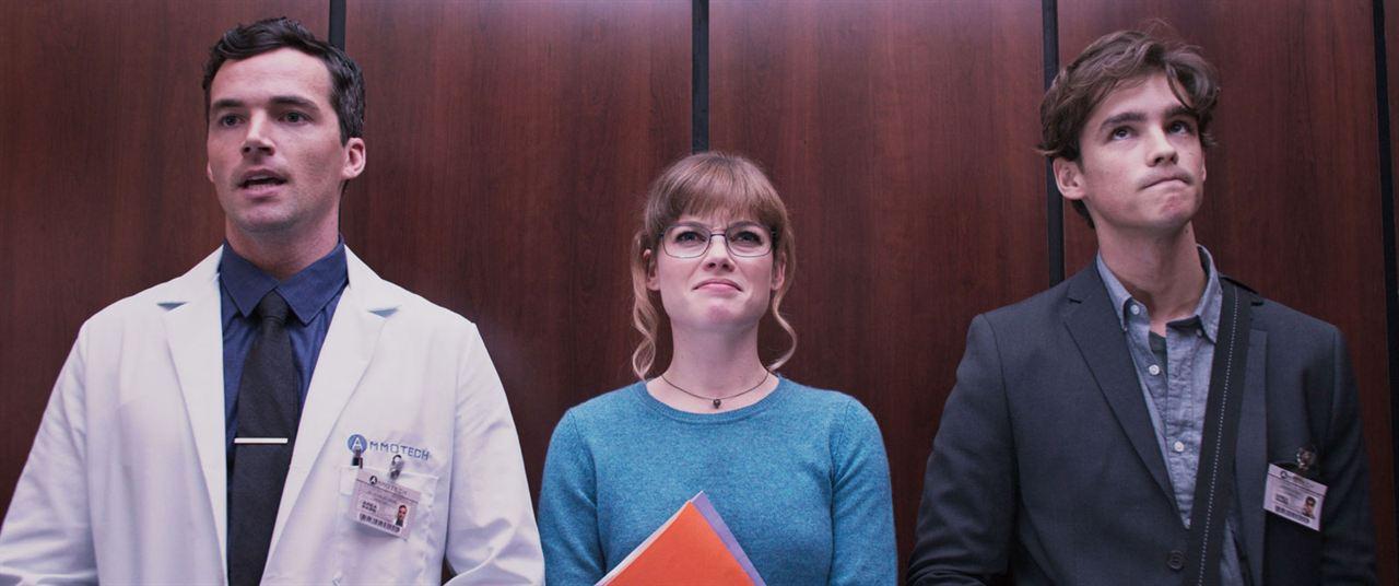 Office Uprising: Brenton Thwaites, Ian Harding, Jane Levy
