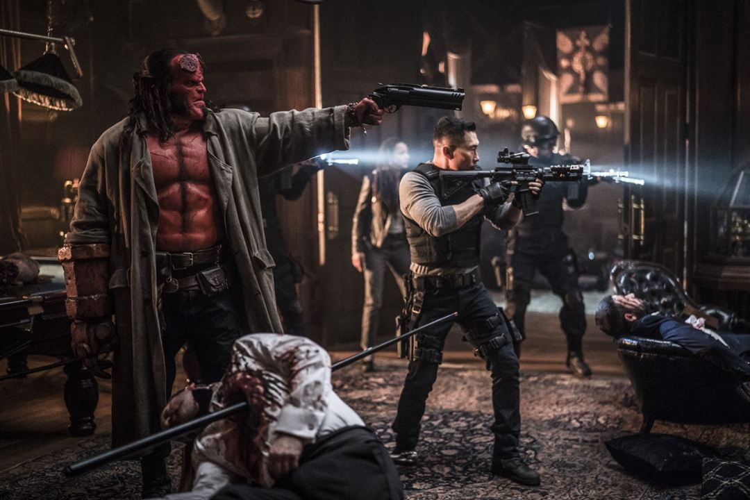 Hellboy - Call Of Darkness : Bild Daniel Dae Kim, David Harbour