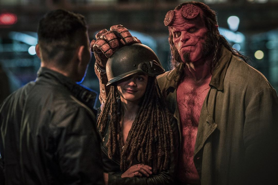 Hellboy - Call Of Darkness : Bild David Harbour, Sasha Lane