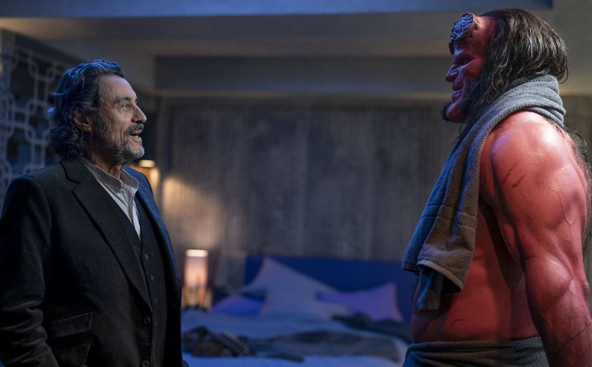 Hellboy - Call Of Darkness : Bild David Harbour, Ian McShane