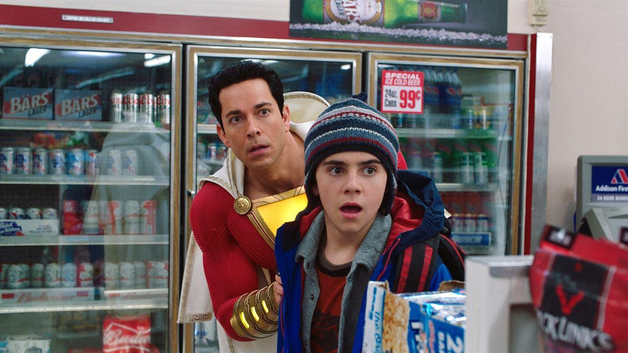 Shazam! : Bild Jack Dylan Grazer, Zachary Levi