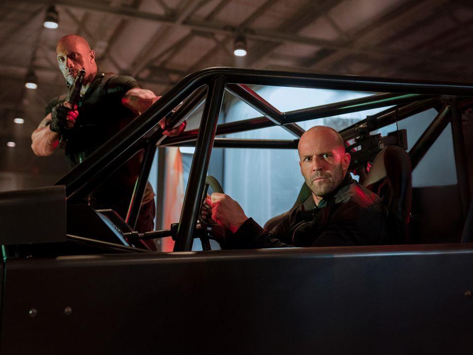 Fast & Furious: Hobbs & Shaw : Bild Dwayne Johnson, Jason Statham