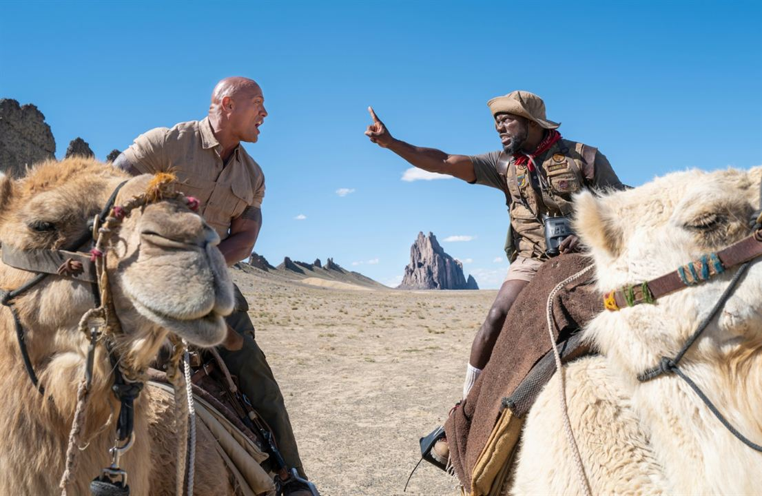 Jumanji 2: The Next Level : Bild Dwayne Johnson, Kevin Hart