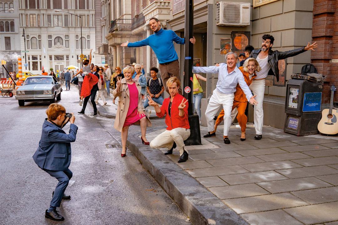 Ich war noch niemals in New York : Bild Heike Makatsch, Katharina Thalbach, Marlon Schramm, Michael Ostrowski, Moritz Bleibtreu