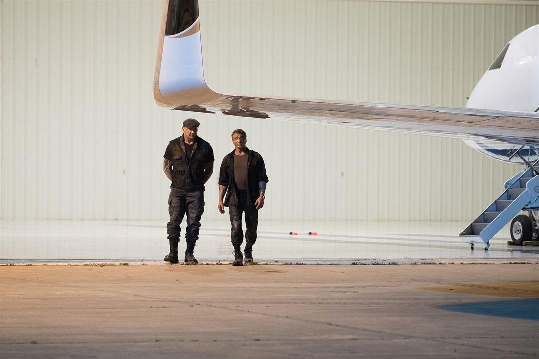 Escape Plan 3: The Extractors : Bild Dave Bautista, Sylvester Stallone
