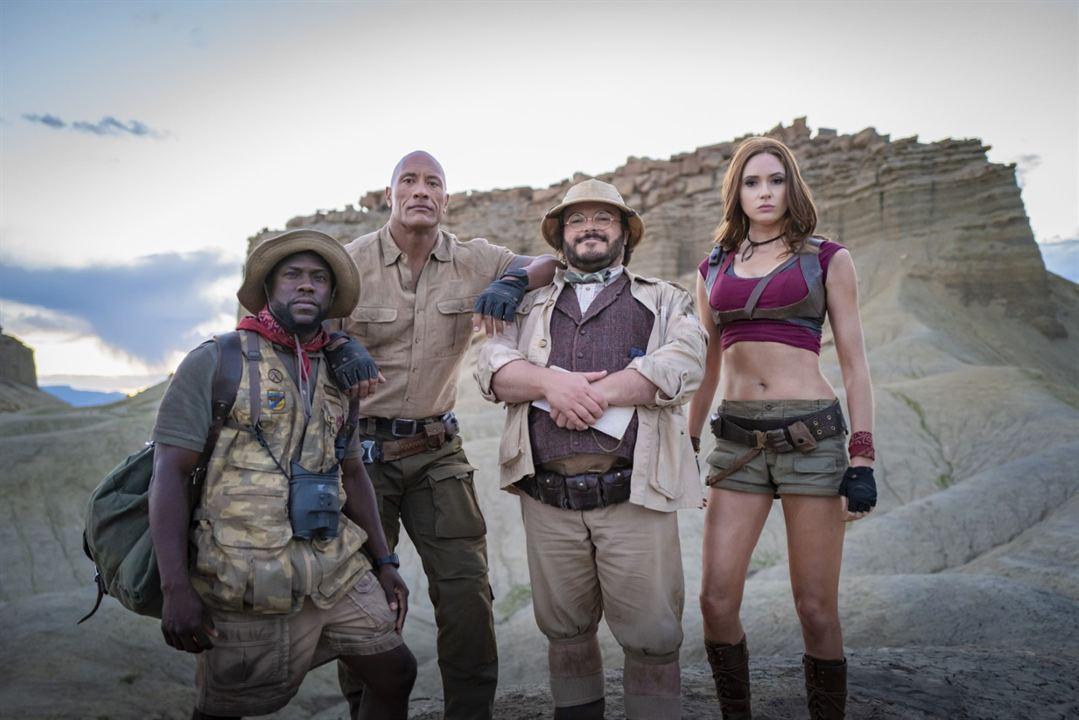 Jumanji 2: The Next Level : Bild Dwayne Johnson, Jack Black, Karen Gillan, Kevin Hart