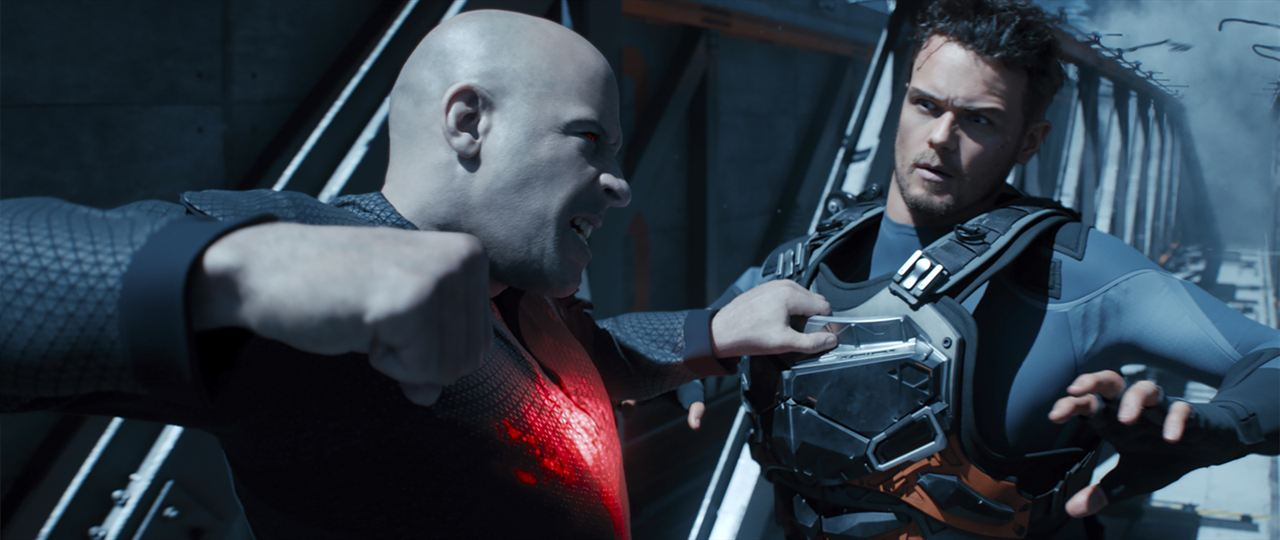 Bloodshot : Bild Sam Heughan, Vin Diesel
