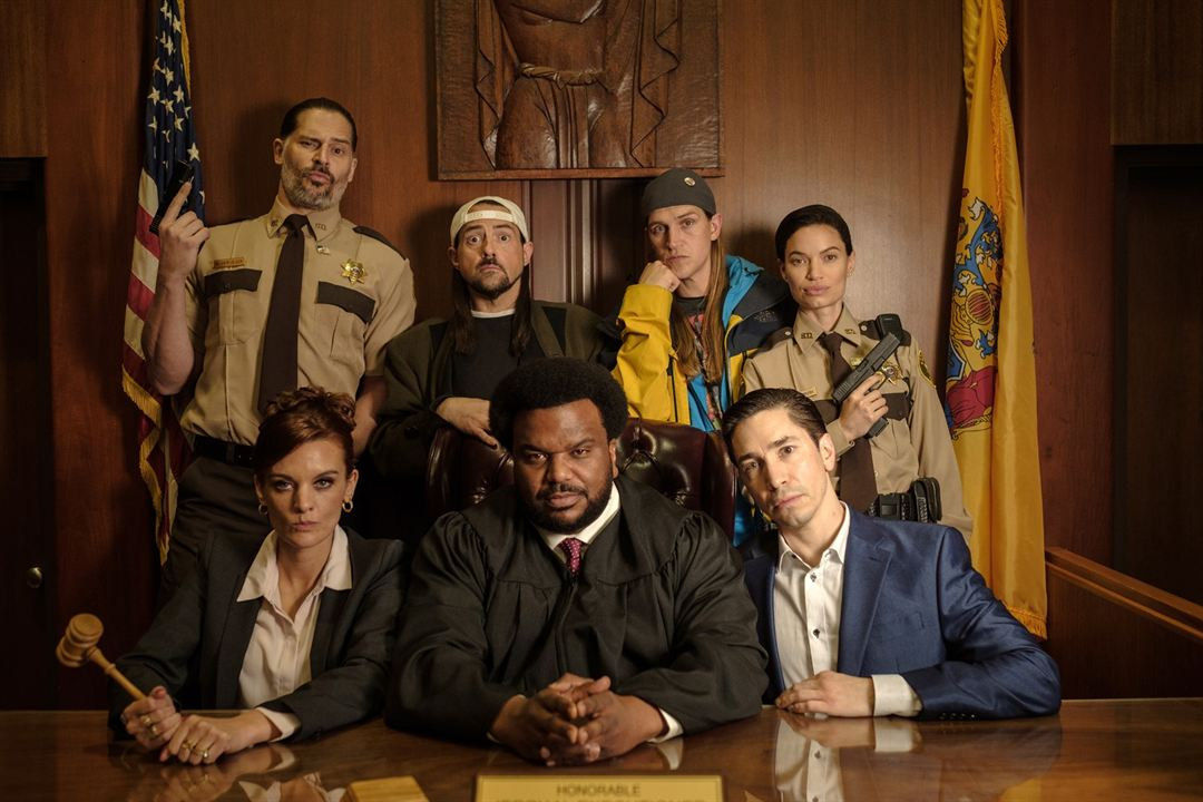 Jay & Silent Bob Reboot : Bild Craig Robinson, Frankie Shaw, Jason Mewes, Joe Manganiello, Jordan Monsanto