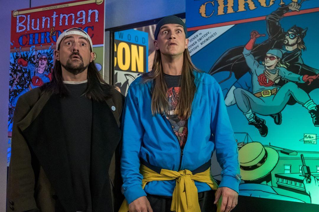 Jay & Silent Bob Reboot : Bild Jason Mewes, Kevin Smith