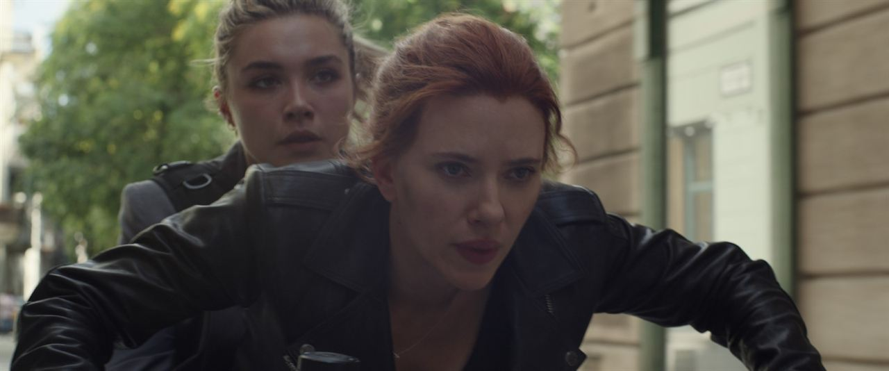Black Widow : Bild Florence Pugh, Scarlett Johansson