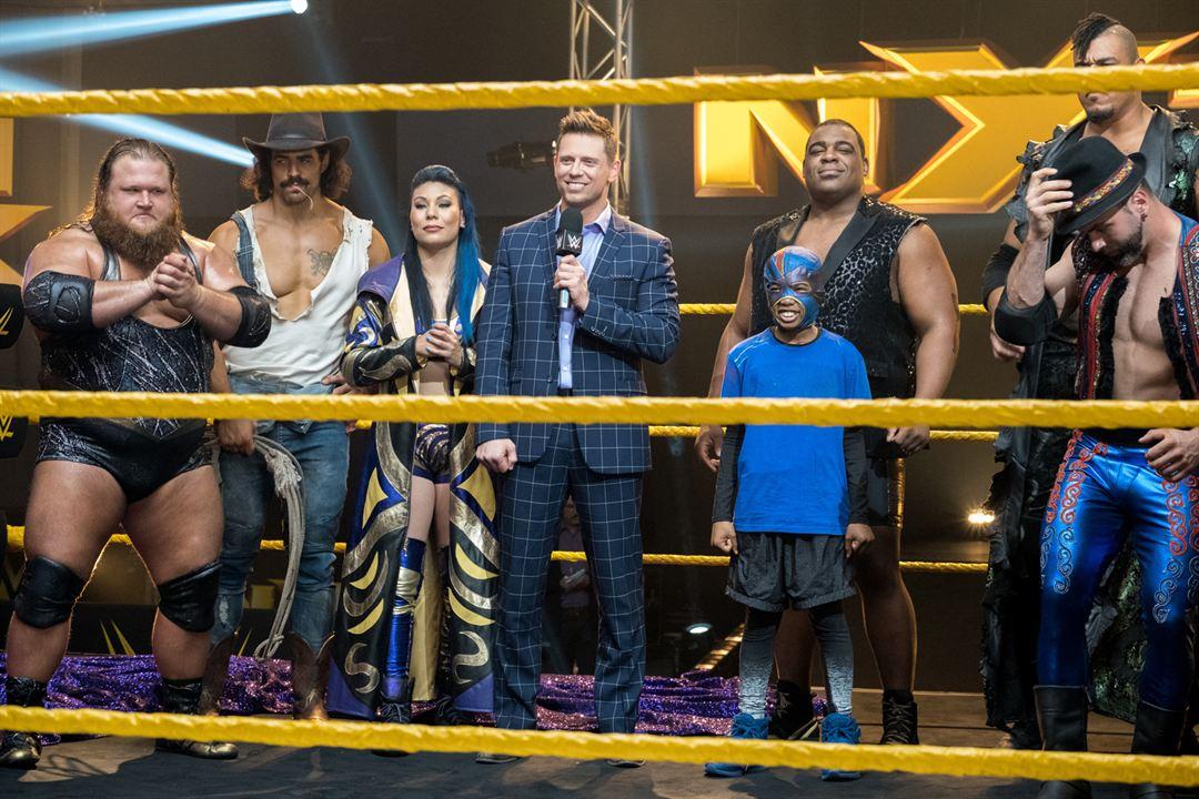 Mein WWE Main Event : Bild Seth Carr, The Miz