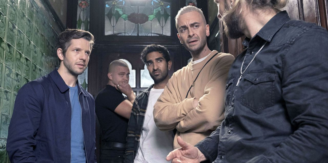 Bild Aaron Heffernan, Damien Molony, Joseph Gilgun, Parth Thakerar, Tadhg Murphy