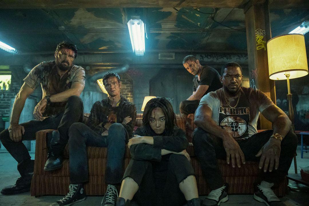 Bild Jack Quaid, Karen Fukuhara, Karl Urban, Laz Alonso, Tomer Capon