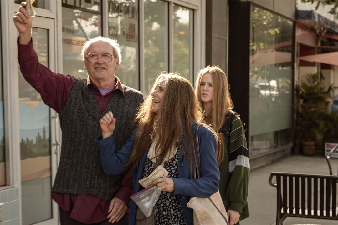 Kajillionaire : Bild Debra Winger, Evan Rachel Wood, Richard Jenkins
