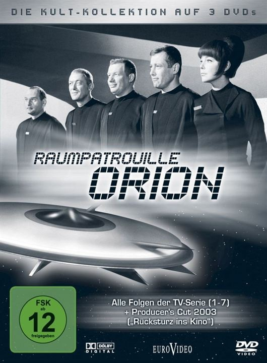 Raumpatrouille Orion : Kinoposter