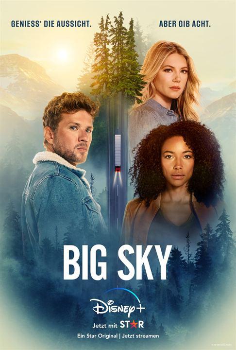 Big Sky : Kinoposter