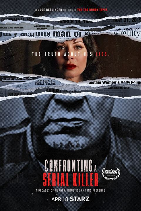 Confronting A Serial Killer : Kinoposter