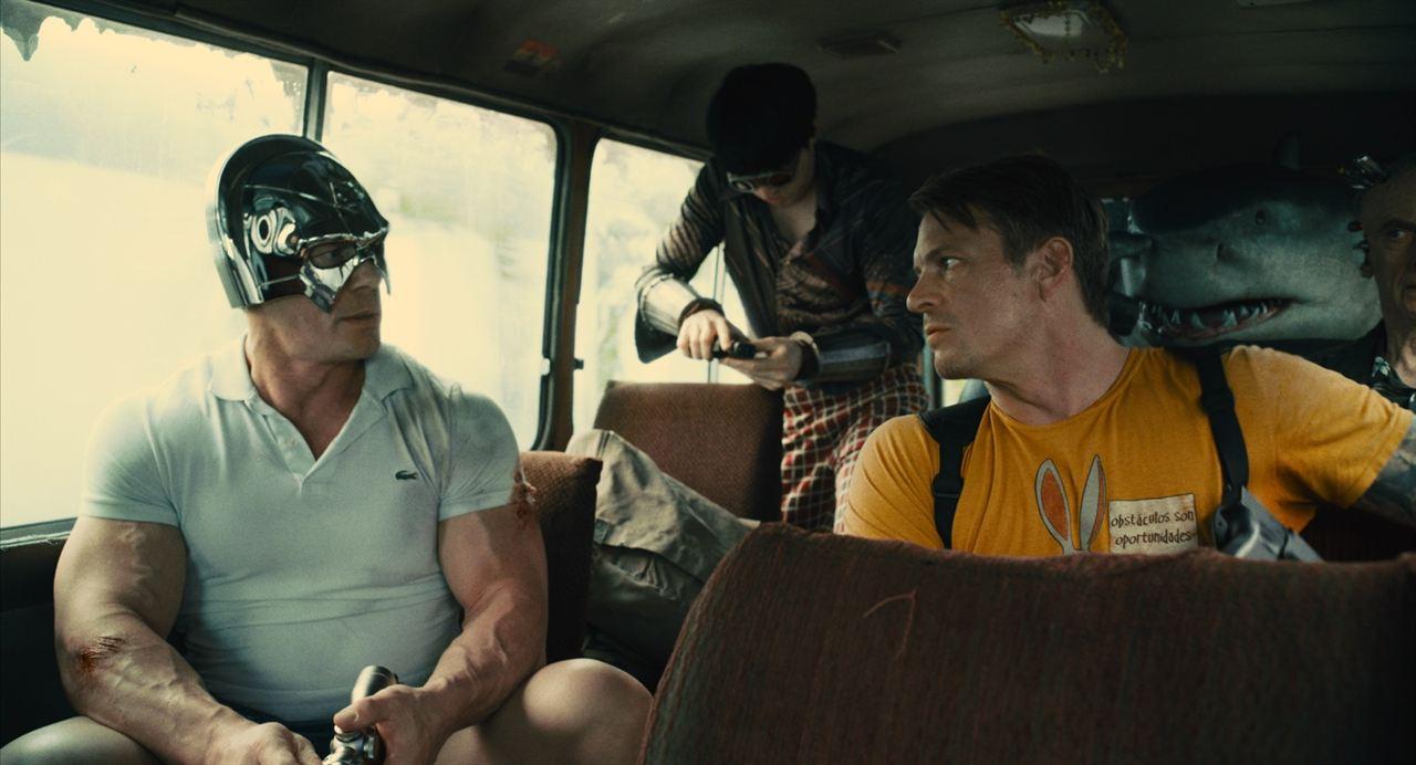 The  Suicide Squad: John Cena, David Dastmalchian, Joel Kinnaman, Peter Capaldi