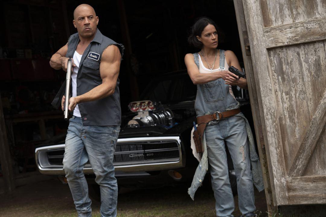 Fast & Furious 9 : Bild Michelle Rodriguez, Vin Diesel