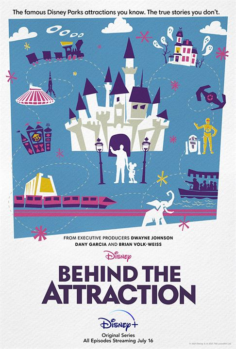 Behind the Attraction : Kinoposter