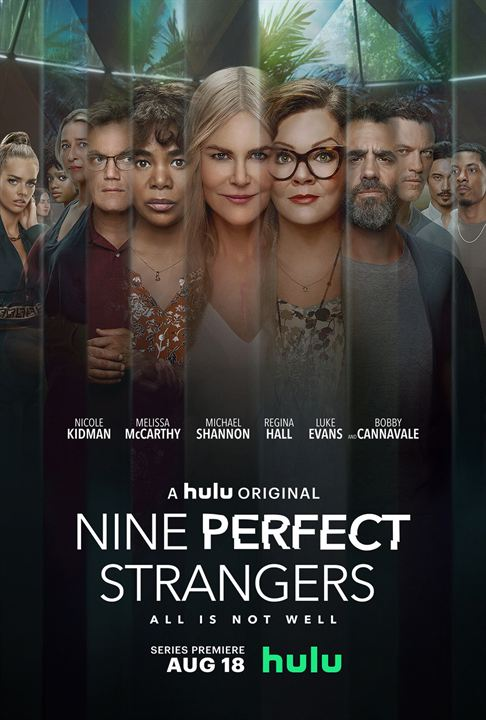 Nine Perfect Strangers : Kinoposter