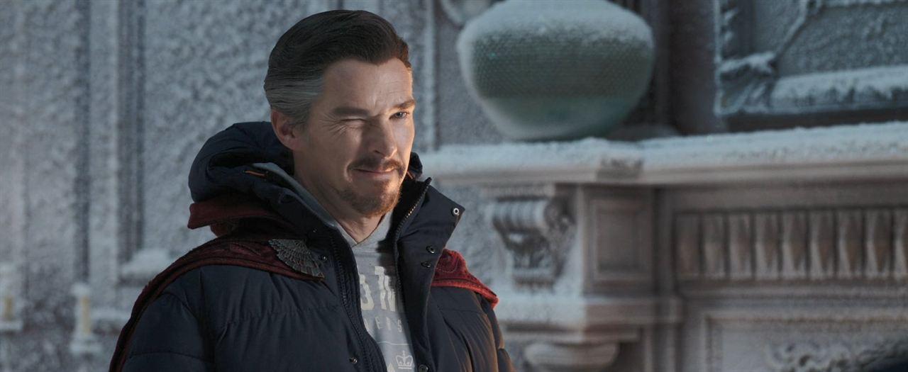Spider-Man 3: No Way Home: Benedict Cumberbatch