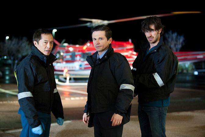 The Night Shift : Bild Eoin Macken, Freddy Rodriguez, Ken Leung