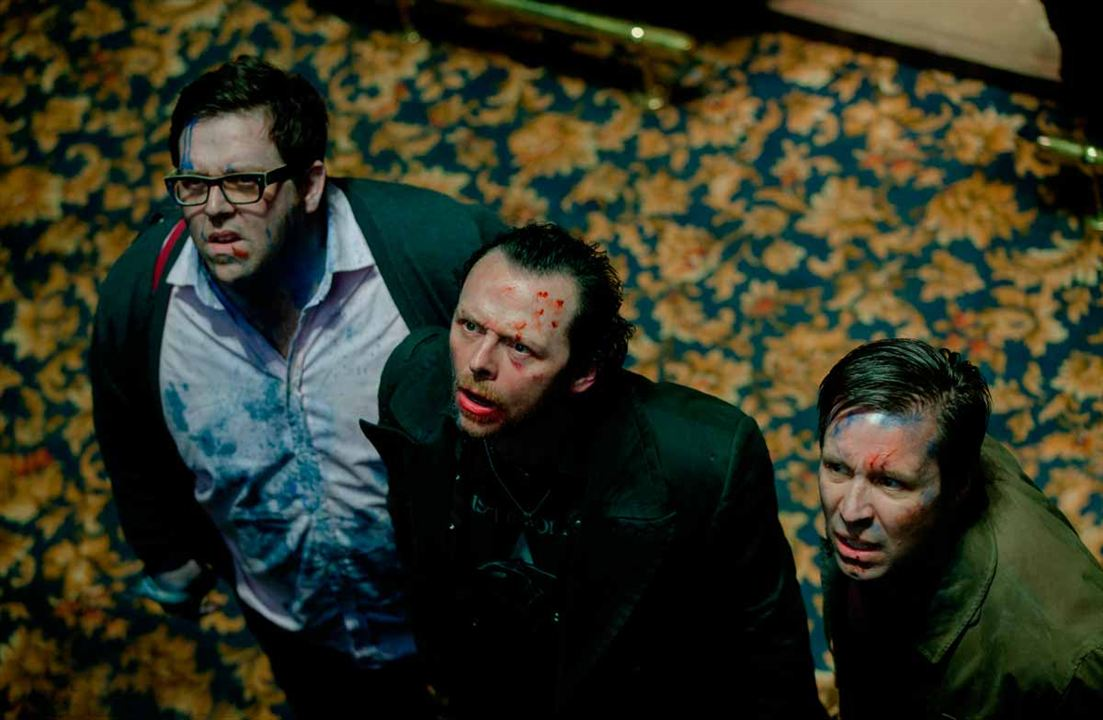 The World's End: Paddy Considine, Simon Pegg, Nick Frost