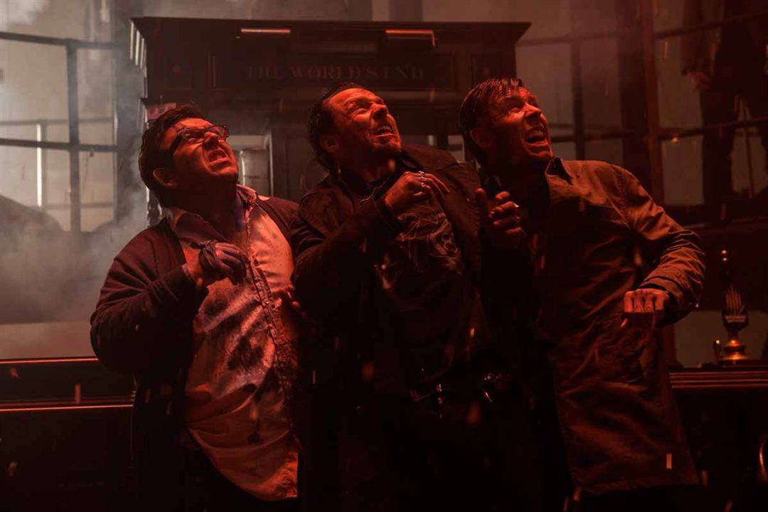 The World's End: Simon Pegg, Paddy Considine, Nick Frost