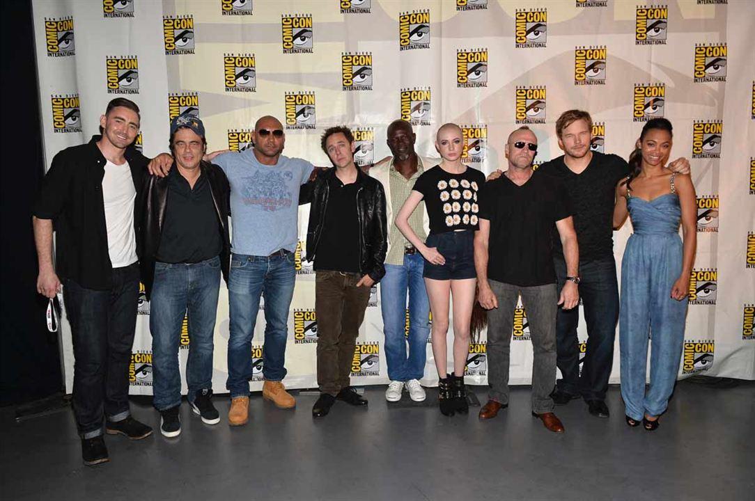 Guardians Of The Galaxy : Vignette (magazine) Benicio Del Toro, Chris Pratt, Djimon Hounsou, James Gunn, Lee Pace
