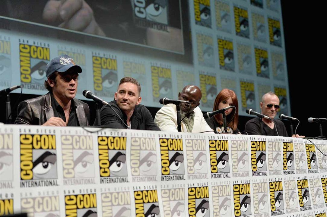 Guardians Of The Galaxy : Vignette (magazine) Benicio Del Toro, Djimon Hounsou, Karen Gillan, Lee Pace, Michael Rooker